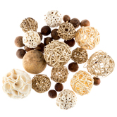 White Natural Decorative Spheres